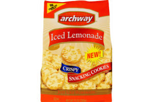 Archway Iced Lemonade Crispy Snacking Cookies