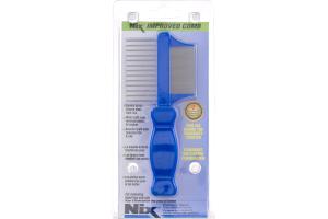 (CN) Nix Peigne En Metal A Deux Cotes De Qualite, Nix Premium Metal Two-Sided Comb