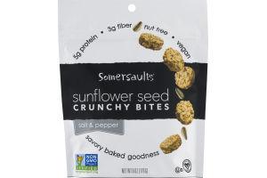 Somersaults Sunflower Seed Crunchy Bites Salt & Pepper