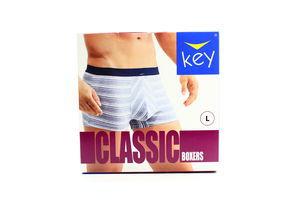 Шорти Key Classic чоловічі 1шт L MXH 353