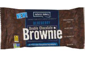 Nature's Bakery Double Chocolate Brownie Blueberry