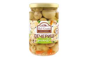 Шампиньоны маринованные целые с овощами Bel Gusto с/б 314мл