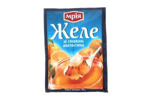 Желе швидкого приготування зі смаком апельсину Мрія м/у 90г