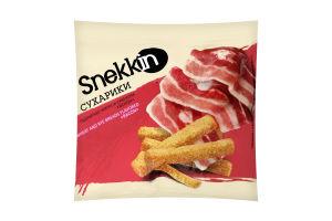 Сухарики пшенично-ржаные со вкусом Бекона Snekkin м/у 35г