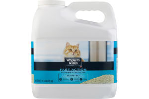Whiskers & Tails Scoopable Cat Litter Fast Action Scented