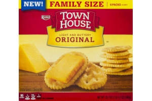 Town House Original Oven Baked Crackers - 6 PK