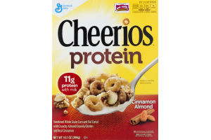 Cheerios Protein Cereal Cinnamon Almond