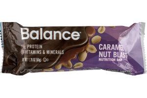 Balance Nutrition Bar Caramel Nut Blast