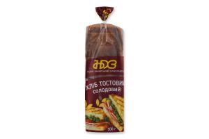 Хліб тостовий Солодовий Ново-Баварський хлібозавод м/у 500г