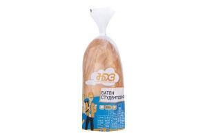 Батон Студенческий Ново-Баварський хлібозавод м/у 300г