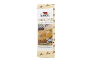 Сир 50% білий Сheddar Paladin кг