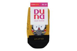 Шкарпетки жіночі Duna №3129 21-23 жовтий