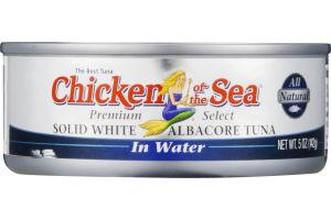 Chicken of the Sea Solid White Albacore Tuna in Water