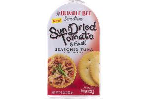 Bumble Bee Sensations Sun-Dried Tomato & Basil Seasoned Tuna with Crackers