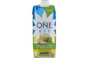 O.N.E. Coconut Water With Tea Tropical Colada