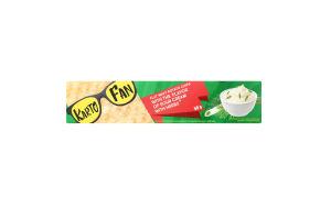 Чипсы картофельные волнистые со вкусом сметаны с зеленью Kartofun к/у 50г