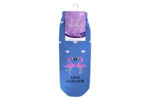 Шкарпетки жіночі Легка хода №5373 25 блакитні