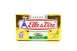 Масло 80% сливочное соленое Elle&Vire м/у 200г