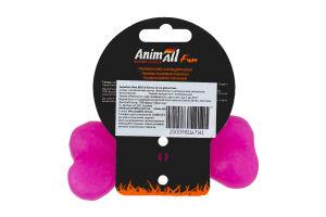 Снаряд тренировочный для собак 12см фиолетовый №88114 Кость Fun AnimAll 1шт