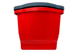 Ведро пластиковое 18л красное
