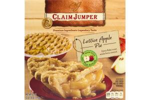 Claim Jumper Lattice Apple Pie