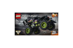 Конструктор для детей от 7лет №42118 Grave Digger Monster Jam Technic Lego 1шт