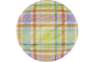 Hallmark Plates Easter Plaid - 8 CT