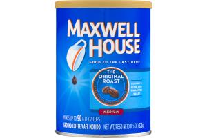 Maxwell House Ground Coffee The Original Roast Medium
