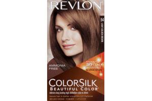 Revlon ColorSilk Beautiful Color Permanent 54 Light Golden Brown
