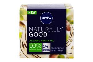 Крем для лица восстанавливающий ночной Naturally Good Nivea 50мл