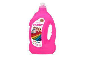 Гель для стирки для цветных вещей For my Family 4000г