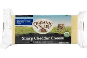 Organic Valley Sharp Cheddar Cheese