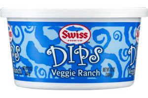 Swiss Premium Veggie Ranch Dips