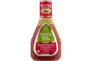 Ken's Steak House Strawberry Vinaigrette with White Balsamic Dressing