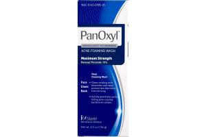 PanOxyl Acne Foaming Wash Maximum Strength