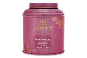 Чай трав'яний ароматизований №703 Трав'яний сад Teahouse з/б 100г