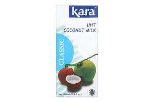 Молоко кокосовое 17% ультрапастеризованное Kara т/п 1000мл