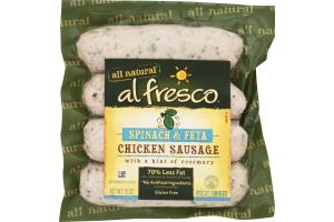 Al Fresco Chicken Sausage Spinach & Feta