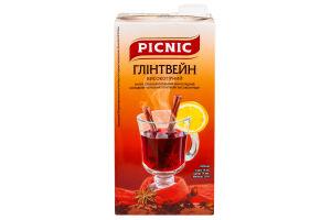 Напиток винный Глинтвейн высокогорный Picnic 1л