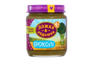 Пюре для детей от 4 месяцев из капусты брокколи Ложка в ладошке с/б 100г