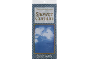 "Royal Crest Home Products Shower Curtain Vinyl 70"" x 72"""
