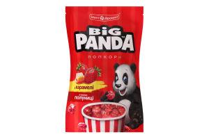 Попкорн в карамели со вкусом клубники Big Panda д/п 90г