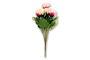 Н-р Букет искусственный Роза 7шт в ассортим Y*-1