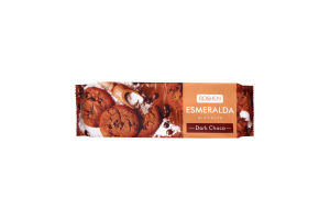 Печиво Roshen Есмеральда Шоколадне з Шоколадними шматочками 150г