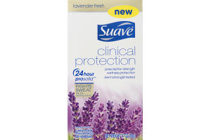 Suave Clinical Protection Deodorant Lavender Fresh