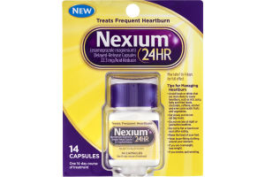 Nexium® 24-Hour Delayed Release Heartburn Relief Capsules 14 ct Package