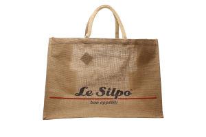 Сумка для покупок Premiya Select Le Silpo джутовая