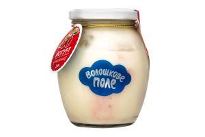 Йогурт 2.8% Малина Десертный Волошкове поле с/б 350г