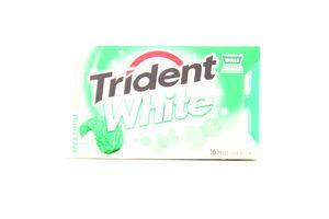 Жувальна гумка Trident White Spearmint 16шт. 48г