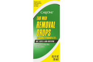 CareOne Ear Wax Removal Drops
